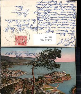381298,Monaco Monte-Carlo Vue generale Totale