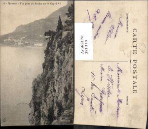 381319,Monaco Monte-Carlo Vue prise du Rocher sur le Cap d Ail