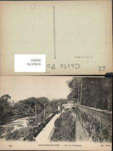385095,Nord-Pas-de-Calais Pas-de-Calais Boulogne-sur-Mer Sur les Remparts Stadtmauer
