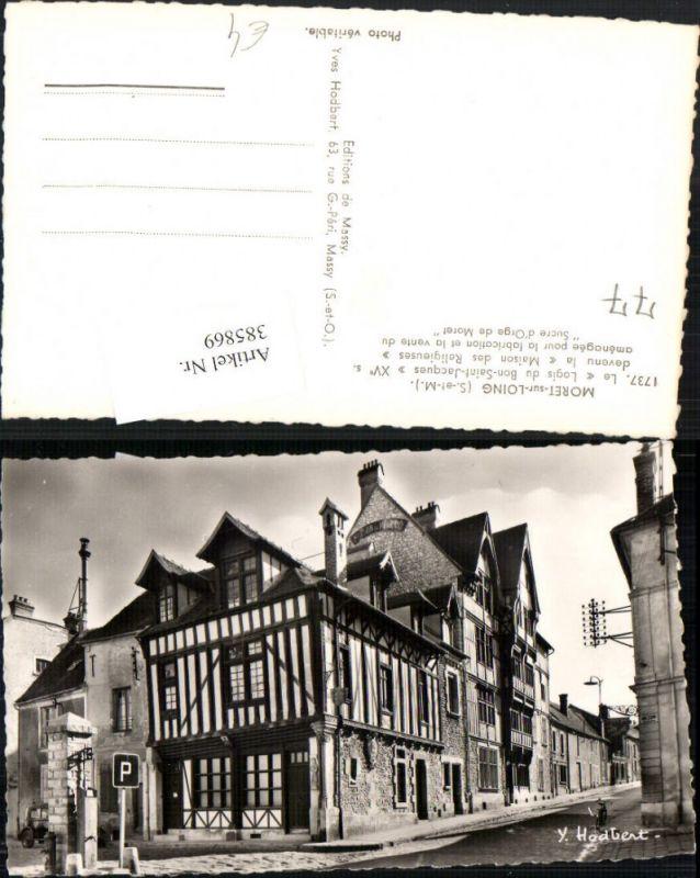 385869,Ile-de-France Seine-et-Marne Moret-sur-Loing Logis du Bon-Saint-Jacques
