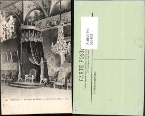 387403,Monaco Le Palais du Prince La Salle du Trone Fürstenpalast Thronsaal