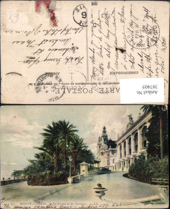 387405,Monaco Monte-Carlo Le Casino et les Terrasses 0