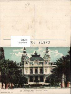 387415,Monaco Monte-Carlo Le Casino Jardin Palmen