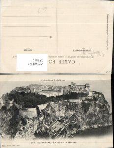 387417,Monaco La Ville Le Rocher Totale