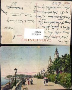 387426,Monaco Monte-Carlo Le Theatre et Terrasses Promenade