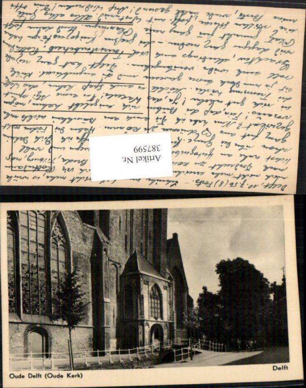 387599,Netherlands Delft Oude Kerk Kirche