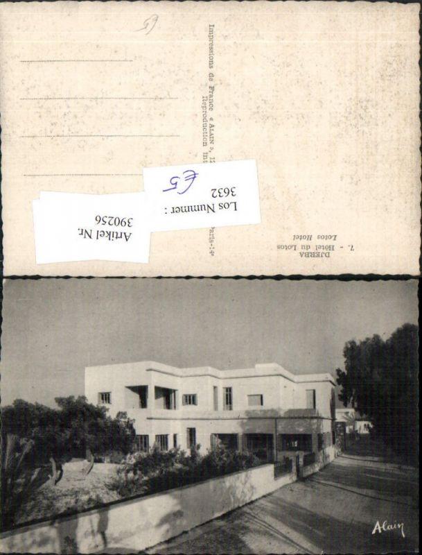 390256,Tunisia Djerba Hotel du Lotos
