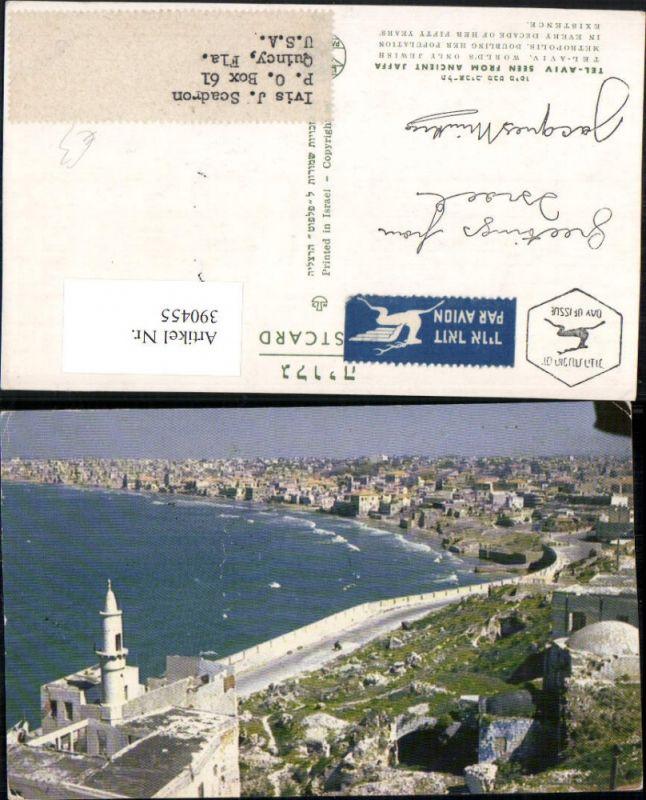 390455,Israel Tel Aviv seen from ancient Jaffa Totale