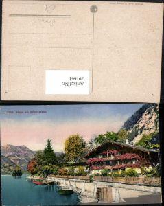 391661,Haus am Breinzersee See b. Brienz Kt Bern