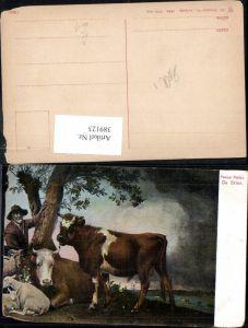 389123,Künstler Ak Paulus Potter Tiere De Stier Rinderart