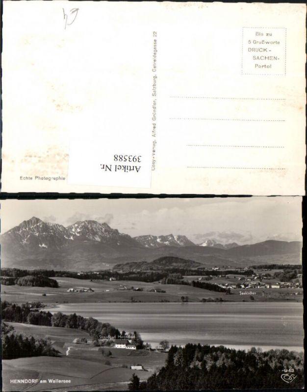 393588,Henndorf am Wallersee m. Seekirchen Bergkulisse pub Cosy 943