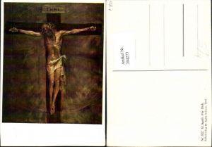 394273,Künstler AK M. Spötl Für Dich Kruzifix Jesus Religion
