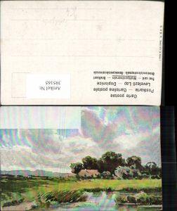 395165,Künstler AK Splitgerber Landschaft Haus