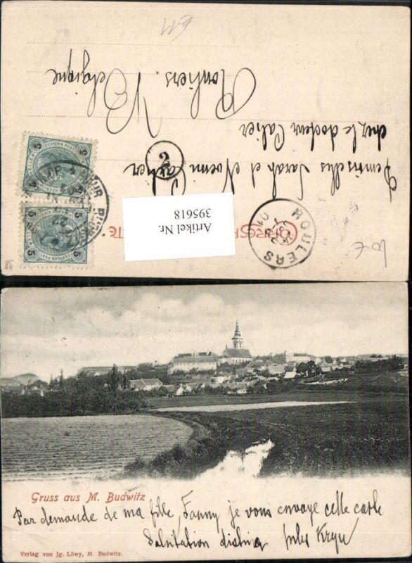 395618,Gruß aus Mährisch Budwitz Moravske Budejovice Totale