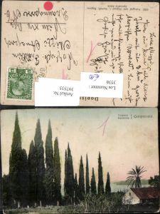 397535,Croatia Trsteno Kannosa Canossa Cempresata b. Dubrovnik Ragusa Zypressen