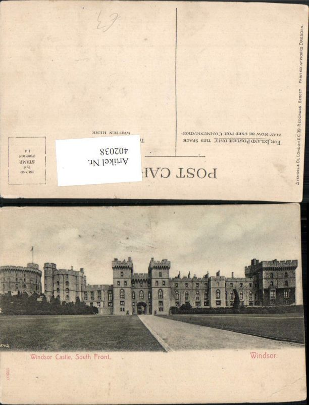 402038,England Windsor Castle Schloss