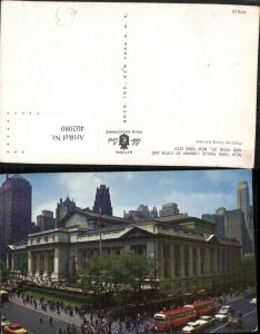 402080,New York City Public Library at Fifth Avenue Bibliothek
