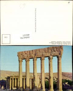 402127,Lebanon Uralt Ruinen Baalbek Säulen