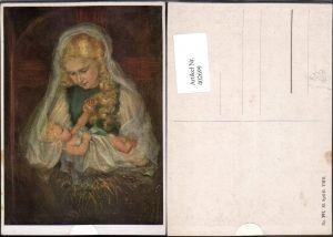 402699,Künstler AK M. Spötl 391 Religion Maria m. Jesuskind