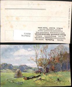402973,Theo Stroefer 349 Künstler Splitgerber Landschaft