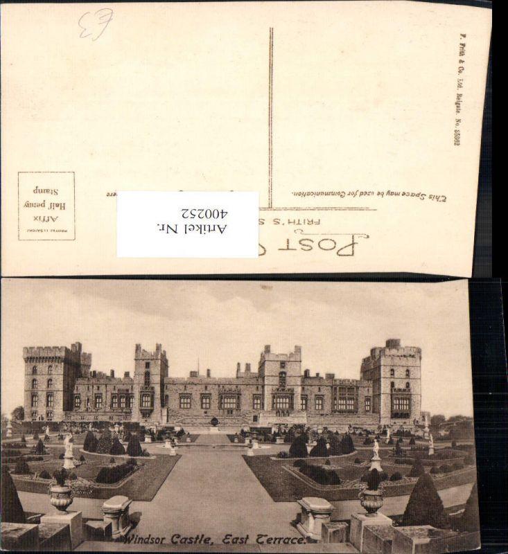400252,Schloss Windsor Castle East Terrace
