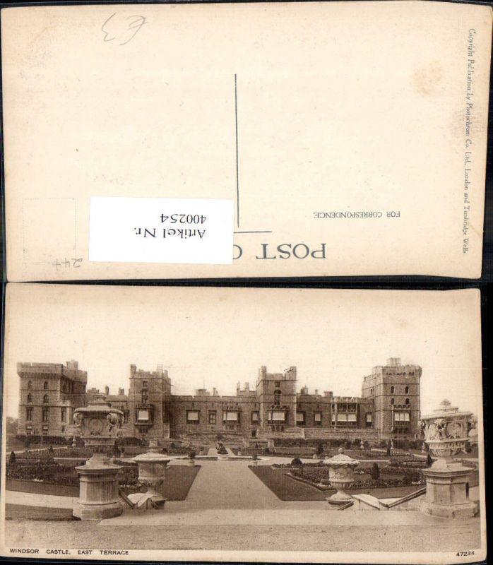 400254,Schloss Windsor Castle East Terrace