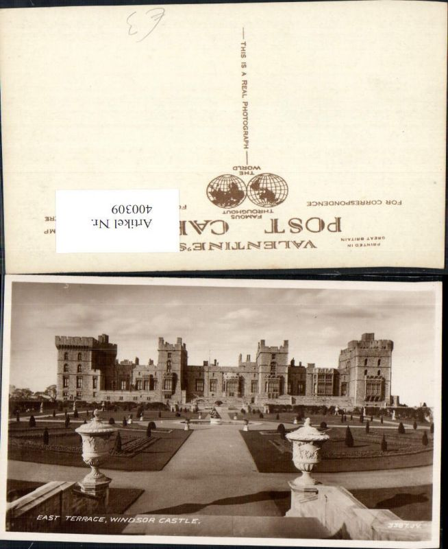 400309,Schloss Windsor Castle East Terrace