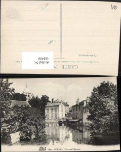 405480,Ile-de-France Essonne Corbeil Vue sur l'Essonne Fluss