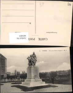 405483,Ile-de-France Essonne Corbeil Statue des Freres Galignani Denkmal