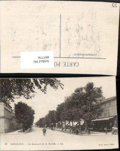 405774,Lothringen Meuse Bar-le-Duc Le Boulevard de la Rochelle Straßenansicht
