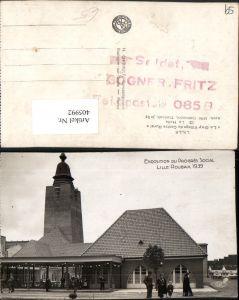 405992,Nord-Pas-de-Calais Nord Exposition du Progres Social Lille Roubaix 1939 Gay Village Halle