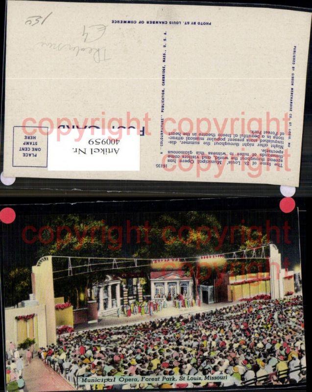 400959,Municipal Opera Forest Park St Louis Missouri Freilufttheater Theater Theaterszene