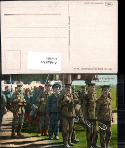 408891,WW1 Kriegsgefangene Gefangene Engländer