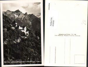 410595,Principality of Liechtenstein Schloss Vaduz Bergkulisse pub Risch-Lau 3761