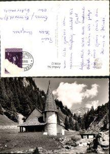 410812,Principality of Liechtenstein Steg Kapelle Bergkulisse
