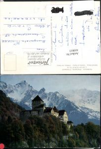 410813,Principality of Liechtenstein Schloss Vaduz Bergkulisse