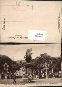 412273,Venezuela Caracas Plaza Bolivar Estatua del Libertador Statue Denkmal