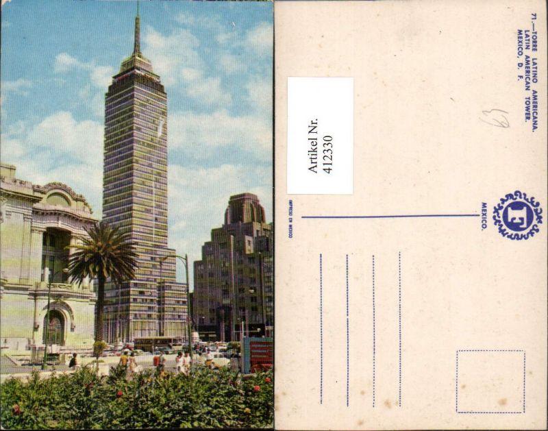 412330,Mexico City Torre Latino Americana Turm