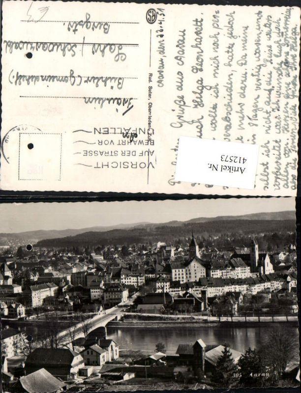 412573,Aarau Totale Brücke Kt Aargau