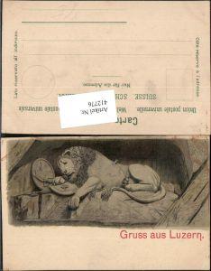 412776,Gruß aus Luzern Löwendenkmal pub Carl Künzli 1511