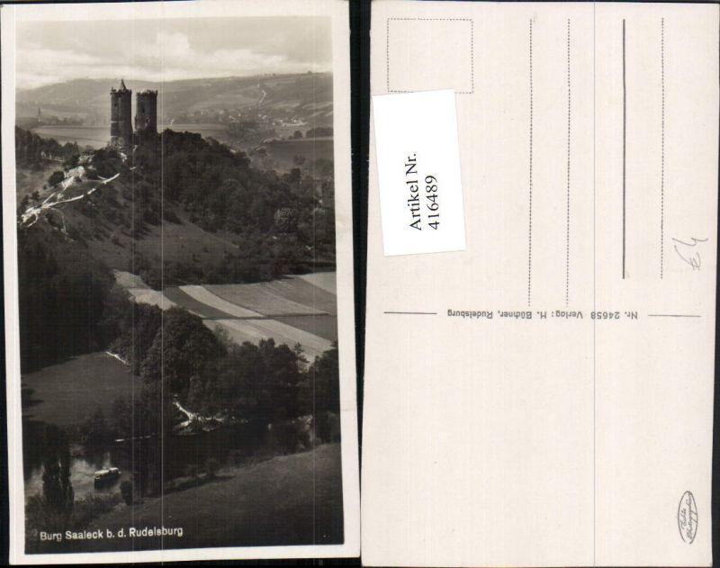 416489,Burg Saaleck bei der Rudelsburg b. Bad Kösen