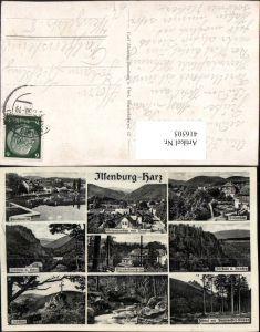 416505,Ilsenburg im Harz Forellenteich Ilsenstein Ilsertal Mehrbildkarte