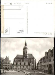 416507,Naumburg an d. Saale Wilhelm-Pieck-Platz m. Wenzelkirche Kirche