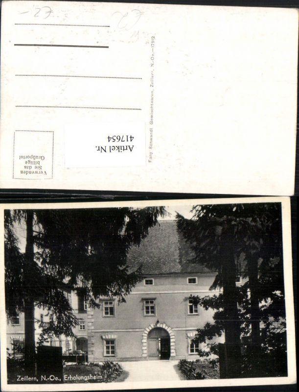 417654,Zeillern b. Amstetten Erholungsheim