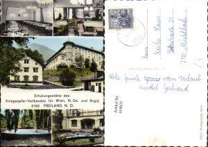 419033,Freiland Erholungsstätte des Kriegsopfer-Verbandes Mehrbildkarte