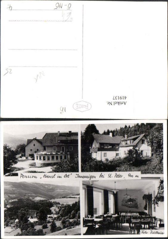 419137,Inneraigen b. St. Peter Pension Hansl im Ort Mehrbildkarte 0