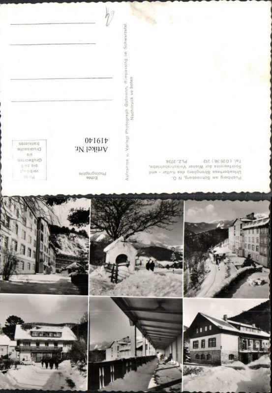419140,Puchberg am Schneeberg Urlauberhaus Strengberg Winterbilder Mehrbildkarte 0