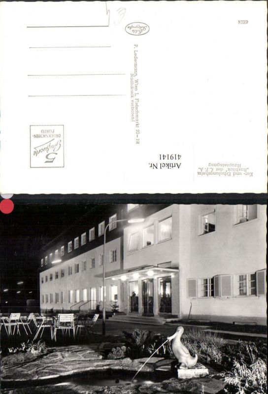 419141,Prein Kur- u. Erholungsheim Raxblick Haupteingang 0