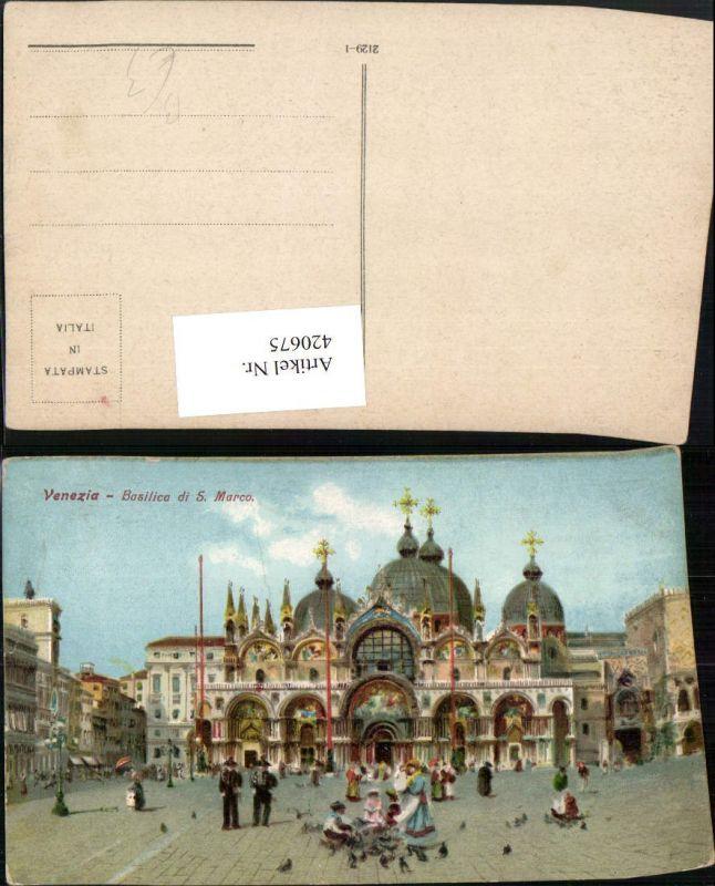 420675,Veneto Venezia Venedig Basilica di S. Marco Markusdom