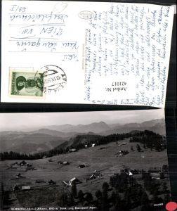 421017,Bürgeralpe b. Aflenz geg. Eisenerzer Alpen Bergkulisse